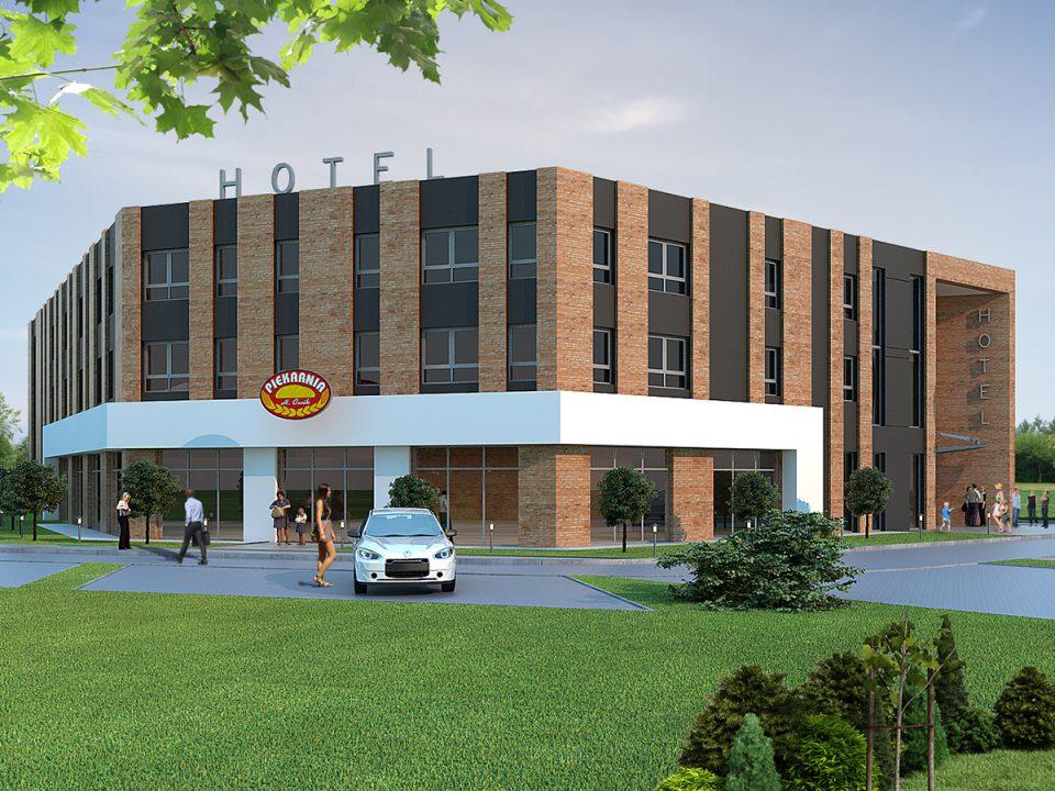Hotel w Zamościu